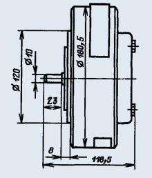 Электродвигатель коллекторный ПЯ-250Ф
