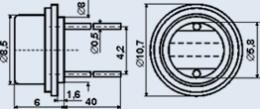 Фоторезистор ФР-765